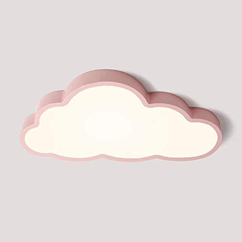 Lámparas de iluminación de Techo niños, Lámpara plafón de Techo Ultrafina 5 cm 36W LED Light Clouds Creativa niños de la lámpara de la lámpara de Techo Dormitorio romántico Rumble Animados