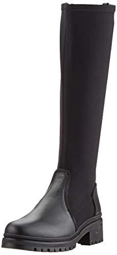 Unisa Damen IMPU_CLF_SCU Hohe Stiefel, Schwarz (Black Black), 40 EU