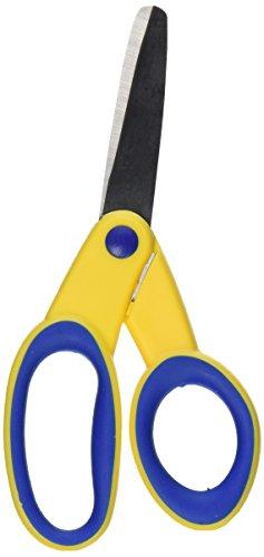 School Smart Lefty Blunt Tip Kids Scissor, 5 Inches, Original Version (086334)