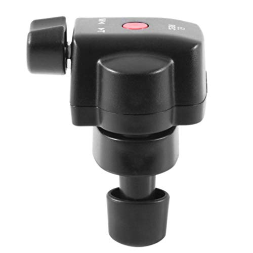 Telecomando per videocamera con controllo zoom da 2,5 mm, Pana-sonic LA-NC Jack Camera Zoom Controller, per Sony e per videocamere Pana-sonic con jack da 2,5 mm (nero)