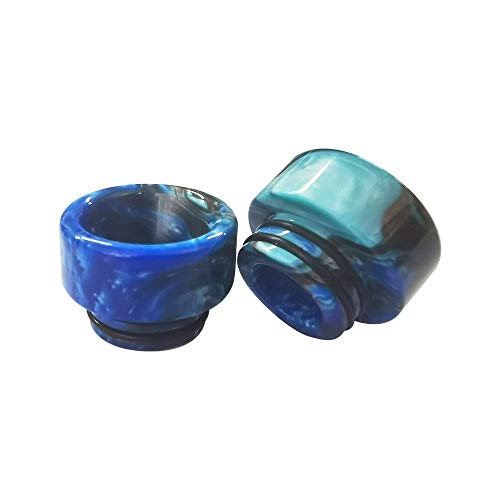GFV Replacement Resin 810 Drip Tip for Mod Machine(Blue)-2Pcs