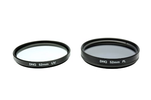 Fujiyama 52mm UV + Polarizing Filters for Panasonic Lumix DMC-FZ150 DMC-FZ100 DMC-FZ48 DMC-FZ47 DMC-FZ45 DMC-FZ40