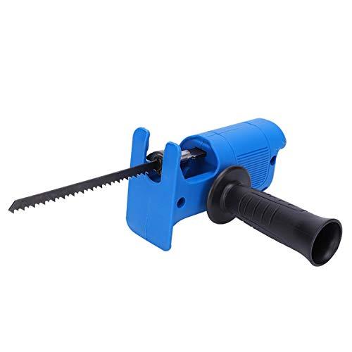 Kit de sierra recíproca eléctrica, sierra de calar multifuncional accesorio de herramienta...