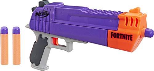 NERF Fortnite HC-E Mega Dart Blaster -- Includes 3 Official Mega Fortnite Darts -- for Youth, Teens, Adults