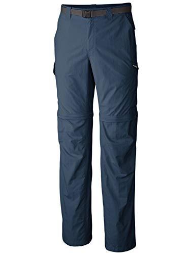 Columbia Men's Silver Ridge Convertible Pant, Breathable, UPF 50 Sun Protection, Whale, 32x34