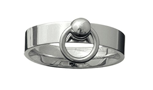 etNox-Ring ''Story of O.'' 5mm Edelstahl (SR179), Ringgrösse:62