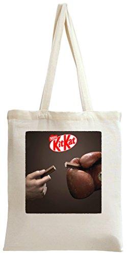 Share Kit Kat Poster Tote Bag