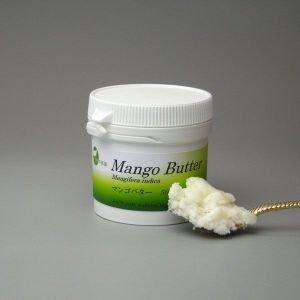 [ 植物バター ワックス ] しっとりなめらかお肌 マンゴバター 100g