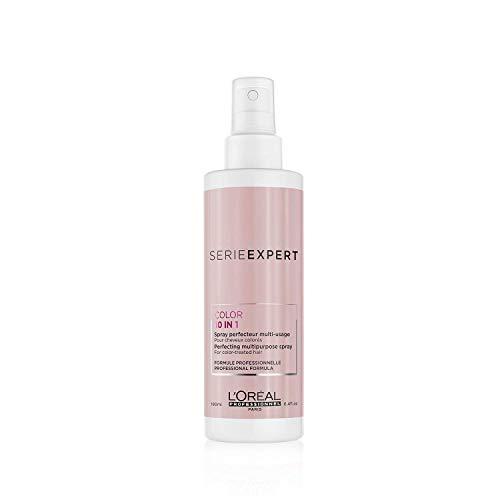 L'Oréal Professionnel Serie Expert Vitamino Color 10 in 1 Pflegespray, Farbschutz Haarpflegespray für coloriertes Haar und strahlende Farbe, 190 ml