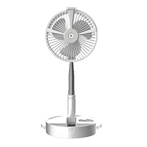 Ventilador de ventilador de escritorio con control remoto Ventilador retráctil plegable con altura personalizada de carga USB de carga ventilador de viaje ventilador ventilador,Shaking his head pink