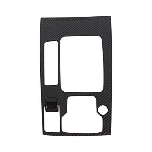 LIFMAGIC 자동 인테리어 중앙 콘솔 기어 박스 패널 버튼 프레임 커버 트림 맞는 마즈다 6M6ATENZA2019 2020 자동차 액세서리