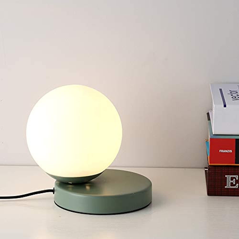 Tischlampe Nordic Simple Modern Living Room Schlafzimmer Nachttisch Studio LED Tischlampe grün