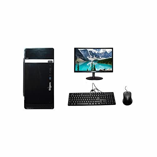 METRIC Assembled Desktop Computer – Core I3-3rd Gen H61 Motherboard 8GB DDR3 RAM 500GB HDD 18.5 INCH Monitor KB & MS WiFi Facility Windows 10 & MS Office (Trail Version) Antivirus (Free Version)