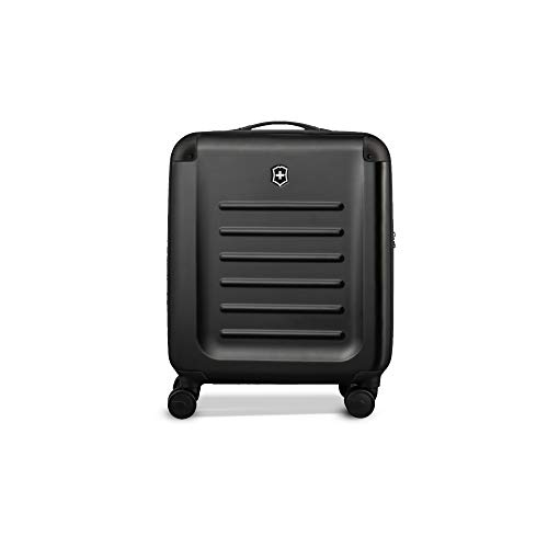 """Victorinox Spectra 2.0 Hardside Spinner Suitcase, Black, Carry-On, Extra Capacity (21.7"""")"""
