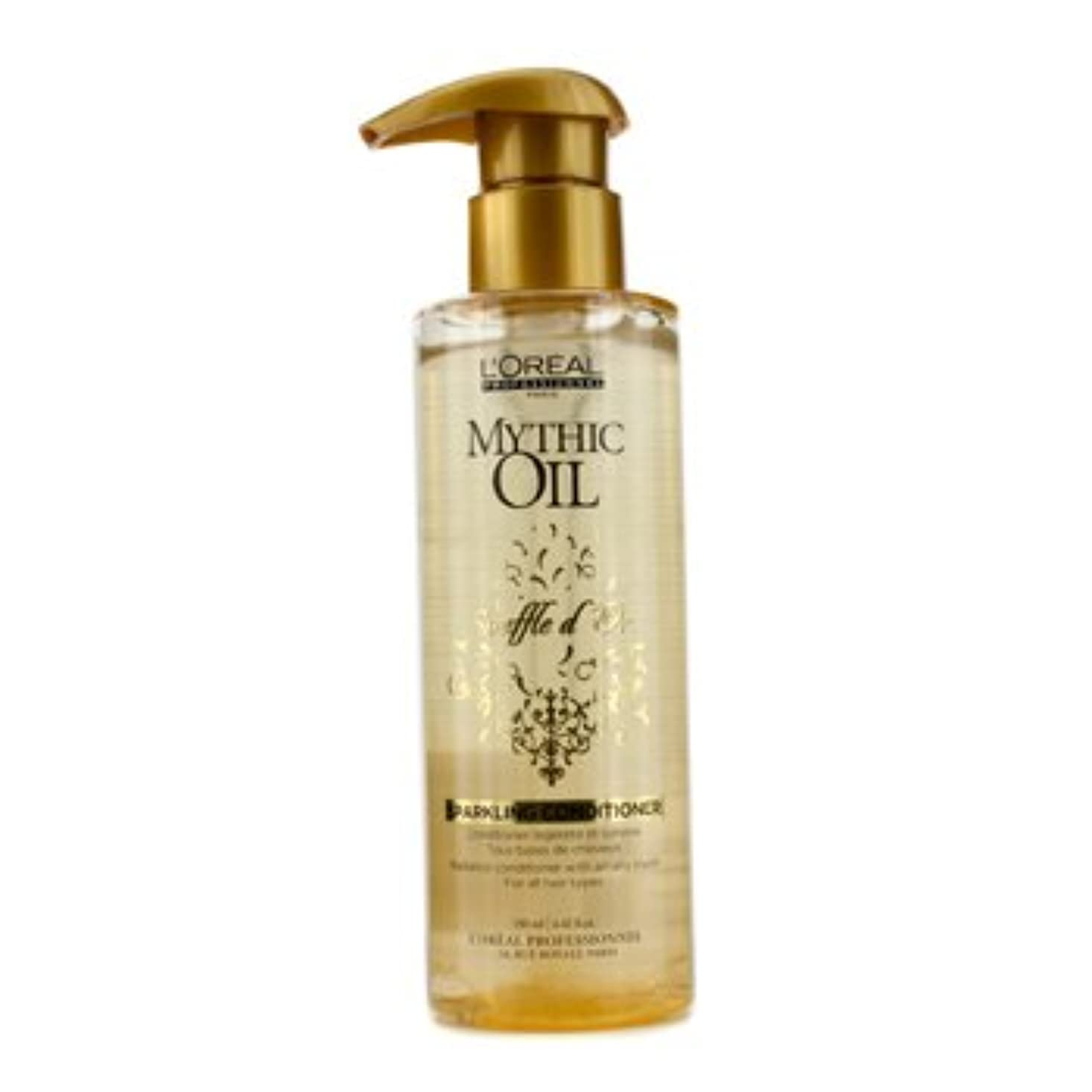 冒険家半径スキッパー[LOreal] Mythic Oil Souffle dOr Sparkling Conditioner (For All Hair Types) 190ml/6.42oz