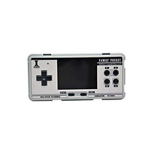 HNQH Retro Handheld Game Console,Portable Video Game Console Build-in 2000 Classic Games 3.0 in IPS Screen Good Gifts for Kids Adults