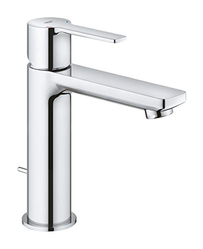 GROHE 2379400A Linear Single-Handle Bathroom Faucet in, Starlight Chrome