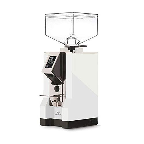 EUREKA CD - Mignon Specialita White Blanc pâle Elektronische Kaffeemühle, Edelstahl, 1 Liter, Silber