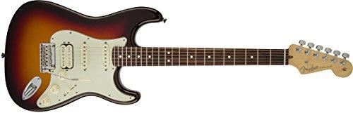 FENDER STRATOCASTER AMERICAN DELUXE PLUS HSS MYSTIC SUNBURST + KOFFER E-Gitarren Stratocaster