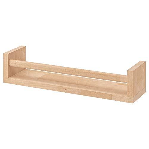 My- Stylo Collection Gewürzregal, Birke, Naturmaterial, Produktgröße: Breite: 40 cm, Tiefe: 10 cm, Höhe: 9 cm, Material: Birke massiv