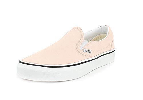 Vans Mens U Clasic Slip ON Blushing True White Size 9.5