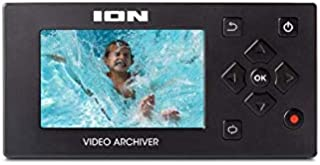 """ION Audio Video Archiver / Analog-to-Digital Video Converter to 8GB HD/SD/USB with 3"""" Display HDMI/AV Out"""