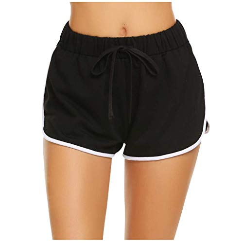 Why Choose Workout Shorts for Women - Solid Color Drawstring Running Workout Bodybuilding Gym Shorts...