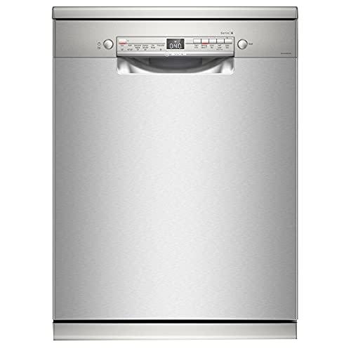 Bosch 13 Place Settings Dishwasher (SMS6ITI00I, Silver Inox)