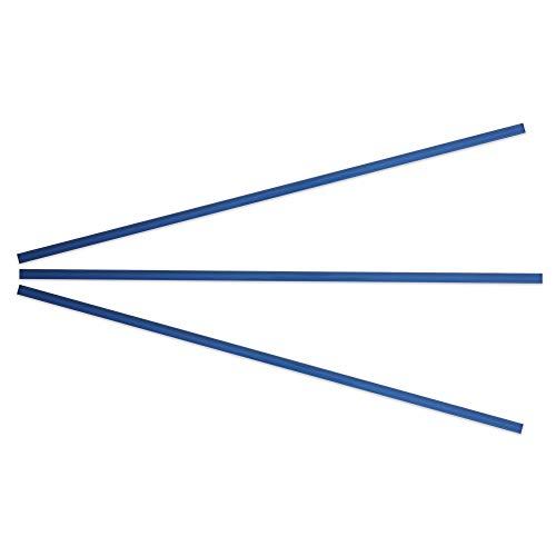 Kantu 2114002 Glass Pencil Tile Trim, Blue, 3 Pack