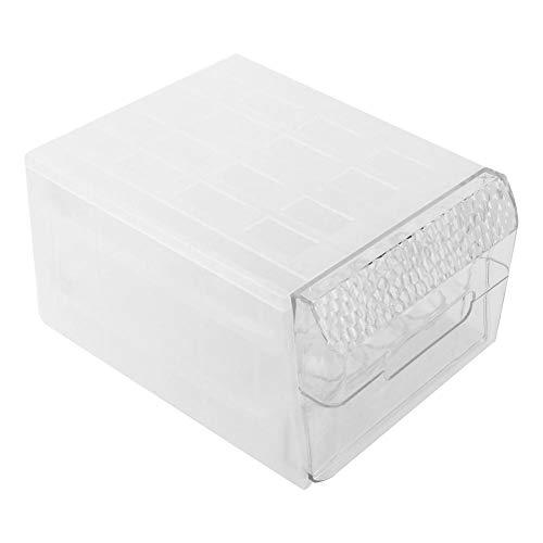 Wifehelper Eierkartons Paletten Aufbewahrungsboxen Eihalter Küche Aufbewahrungsorganisation Zubehör Ei Aufbewahrungsbox Schubladentyp Küche Doppelschicht 34 Transparent Ei Aufbewahrungsbox