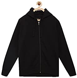 Adbucks Boys Rich Cotton Full Sleeves Zipper Jacket with Hoodies