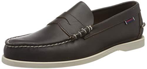 Sebago Dolphin, Men's 7000GB0 Boat Shoes (Dk Brown 901) 8 UK
