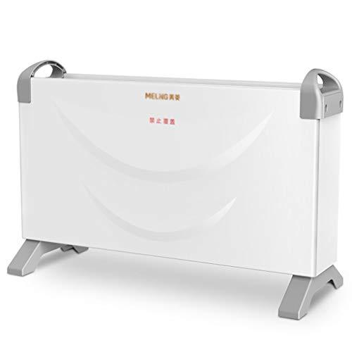 LP Verwarmingsapparaten Witte elektrische 2 kW Convector radiator draagbare Interieur Country radiator 2000 watt vrijstaande verstelbare thermostaat 3 warmte-instellingen