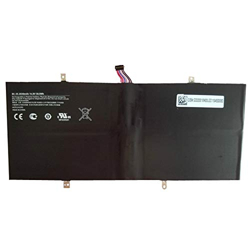 szhyon 14.8V 30wh 2030mAh Original BC-3S Laptop Battery compatible with Nokia Lumia 2520 4ICP5/43/95 inter Tablet