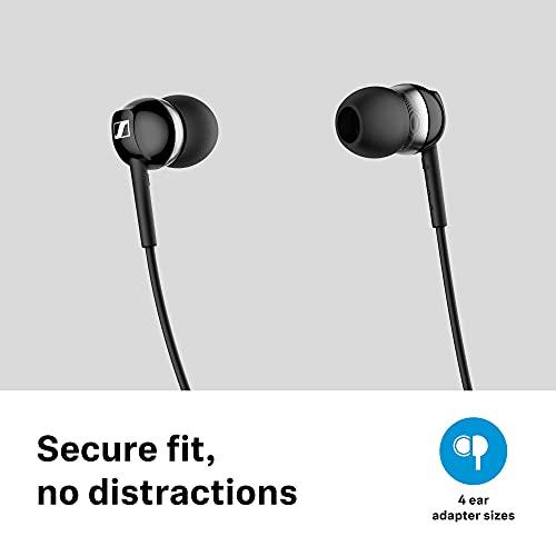 Sennheiser CX 150BT Bluetooth 5.0 Kabellose Kopfhörer, 10 Stunden Akkulaufzeit, USB-C-Schnellladung, zwei Geräte-Konnektivität, Weiß (CX 150BT Weiß)