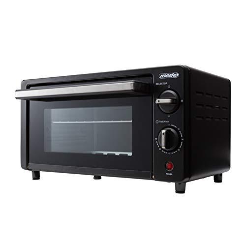 Mesko MS 6013 Mini-oven, 9 liter, zwart