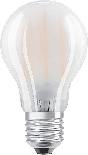 Osram LED Base Classic A Lampe, Sockel: E27, Warm White, 2700 K, 4 W, Ersatz für 40-W-Glühbirne, matt
