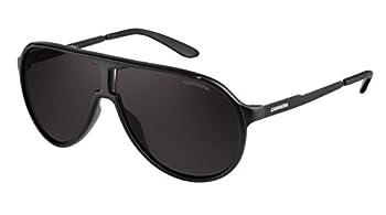 Carrera unisex adult New Champion/S Sunglasses Matte Black & Brown Gray 62 mm US
