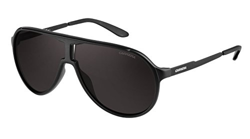 Carrera New Champion NR Guy Gafas de sol, Negro (Black Matte/Brown Grey), 62 Unisex-Adulto