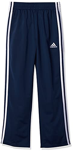 adidas Baby Boys  Active Sports Athletic Tricot Jogger Pant, Navy, Large (14 16)