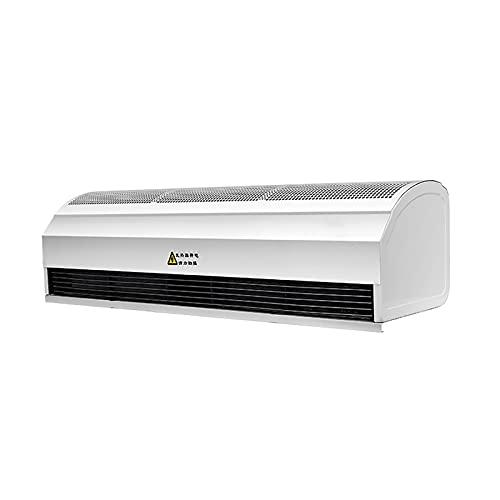 CLING Máquina Cortina Aire frío y Caliente Alta Potencia Comercial Interior Protección contra Incendios Carcasa metálica Protección automática Segura y Estable de retardo Silencioso y con Poco Ruido