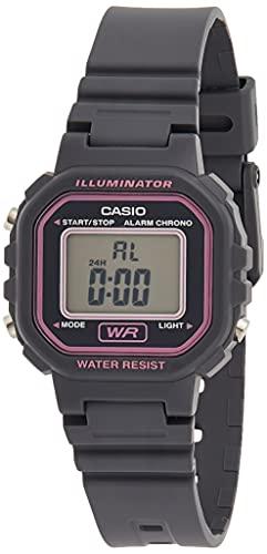 Casio Reloj Digital para Mujer de Cuarzo con Correa en Resina LA-20WH-8AEF
