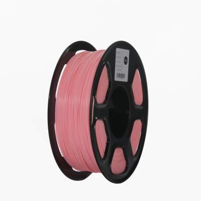 ABS Filament 3D Printer Filament 1.75mm 1kg Printing Materials 3D Plastic Printing Filament toughness (Color : Yellow) JIAJIAFUDR (Color : Pink)