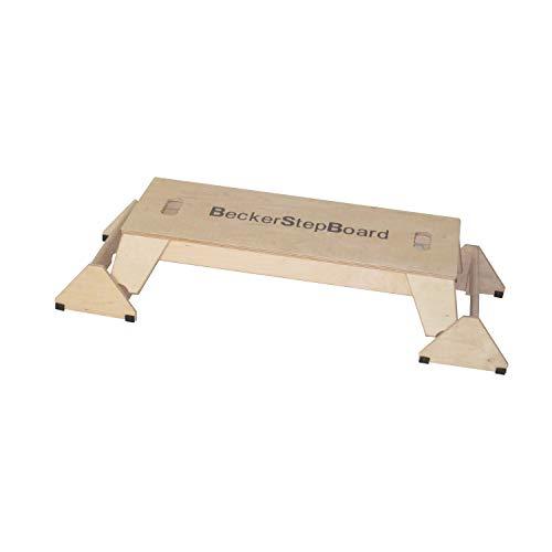 N\\A Becker StepBoard M (BSG 28984) 3 Level stabil und funktionell Natur pur - ganz aus hochwertigem Multiplexholz gefertigt und bis 150 kg belastbar