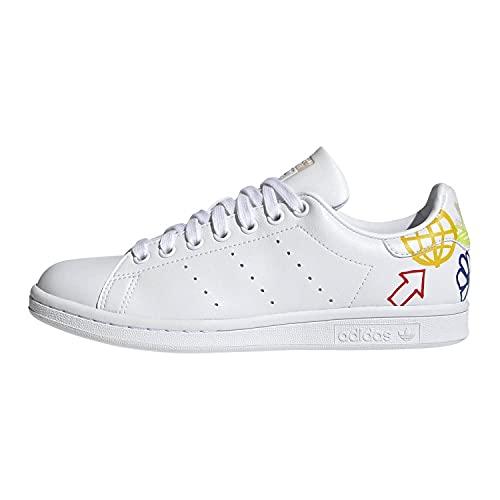 adidas Stan Smith W, Scarpe da Corsa Donna, Ftwr White Halo Ivory Ftwr White, 38 2/3 EU