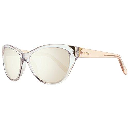 Guess Sonnenbrille GU7323 58G64 Gafas de sol, Transparente (Transparent), 58 para Mujer
