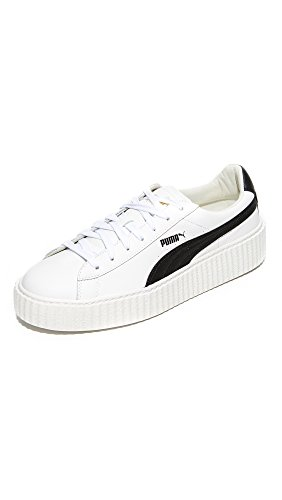 PUMA Select Men's x Fenty by Rihanna Cracked Creepers, White/Black/White, 12 D(M) US