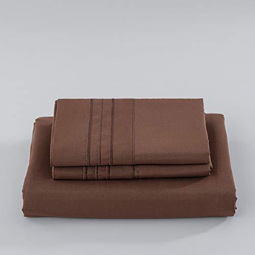 haiba Protector de colchón extra profundo de algodón, tamaño superking, calidad de hotel, algodón extra confort y protección, 99 x 190 cm + 40 cm (3 piezas)