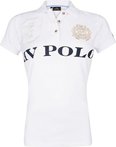 HV Polo - Polo Favouritas EQ SS - Poloshirt - Weiss - L