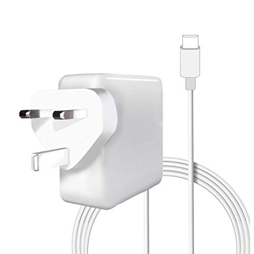 87W Type C Charger Power Adapter, Type C PD Wall Charger for Mac-Book Pro-13 inch(87W Type C)